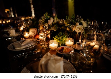 Luxury and elegant wedding reception in an exclusive location