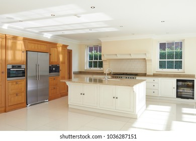 Luxury Fitted Kitchen In Beautiful Home