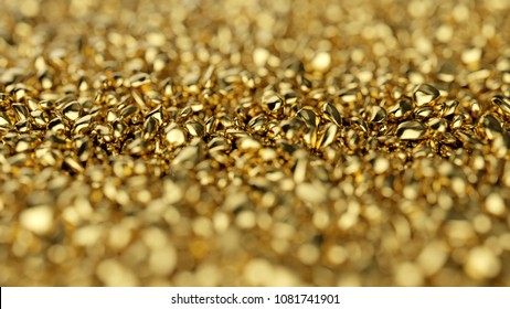 Luxury gold background. Abstract golden rock or stones texture