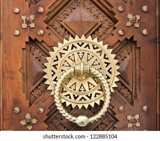 Luxury Golden doorknocker, Spain