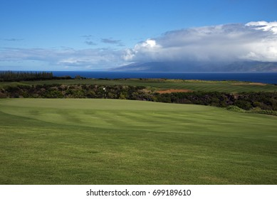 Luxury Golf Course Kapalua, Maui, Hawaii