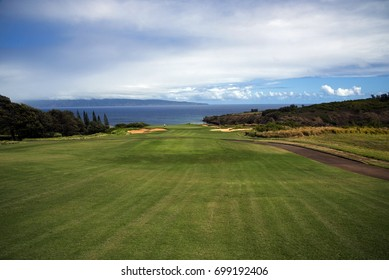 Luxury Golf Course, Kapalua, Maui, Hawaii