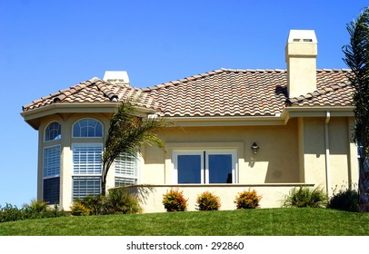 Luxury Home, Exterior and Front Yard