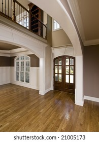 Luxury Home Extreme Arch Entrance