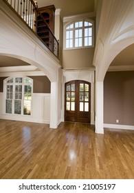 Luxury Home Vertical Symmetrical Arch Entrance