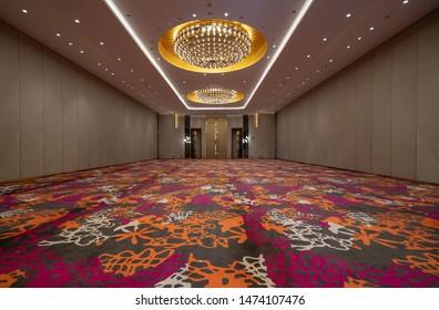 Luxury hotel Grand ballroom interior