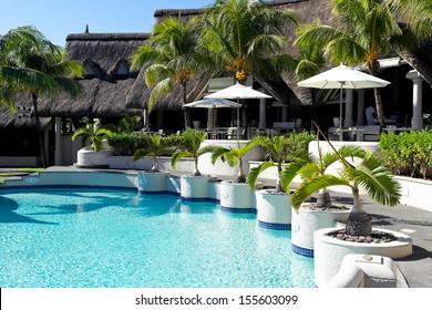 Luxury hotel in Mauritius