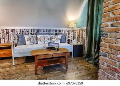 Luxury Hotel Room in Russian Style