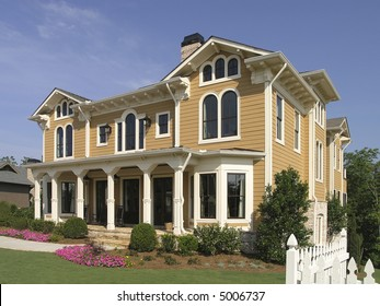 Luxury House with exterior architecture