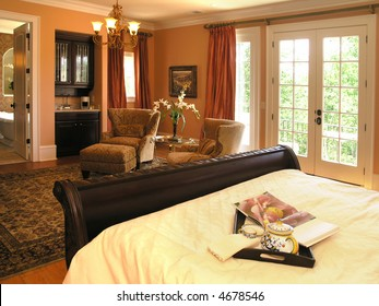 Luxury House with regal elegant bed room