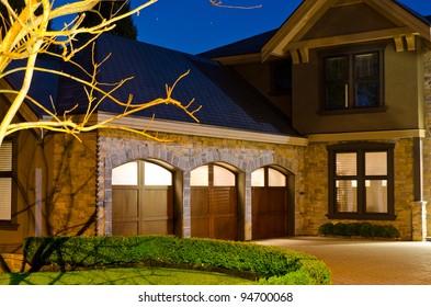 Triple Garage Images Stock Photos Vectors Shutterstock