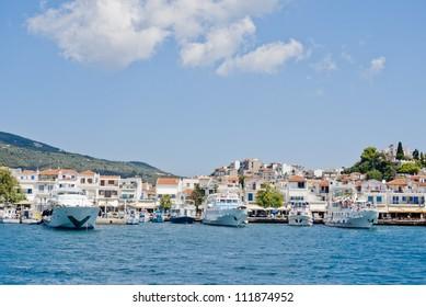 Luxury Island,Skiatos View, Skiatos port