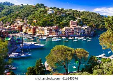 Luxury Italian vacations - beautiful Portofino in Ligurian coast
