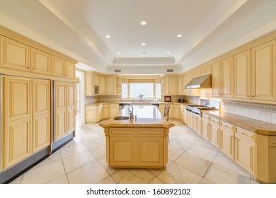 Luxury kitchen in a luxury house.