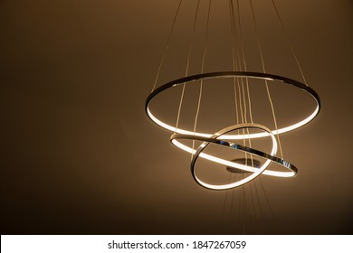 luxury led chandelier wall hanging