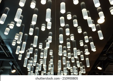 Luxury lighting decorated in modern building