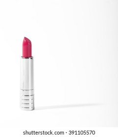 Luxury lipstick on white background