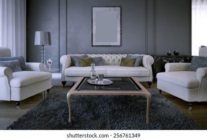 Awe Inspiring Dark Grey Sofa Stock Photos Images Photography Shutterstock Gamerscity Chair Design For Home Gamerscityorg