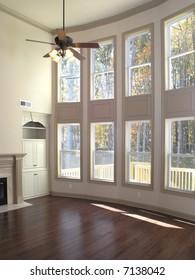 Luxury Living Room Window wall