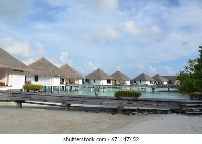 Luxury maldives villa
