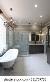 Luxury Master Bathroom - Portrait