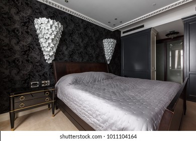 Wallpaper for Master Bedroom Stock Photos, Images ...