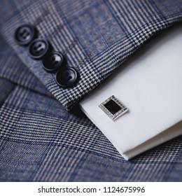 Luxury men's cufflinks