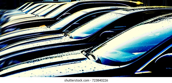 Row Cars Images, Stock Photos & Vectors | Shutterstock
