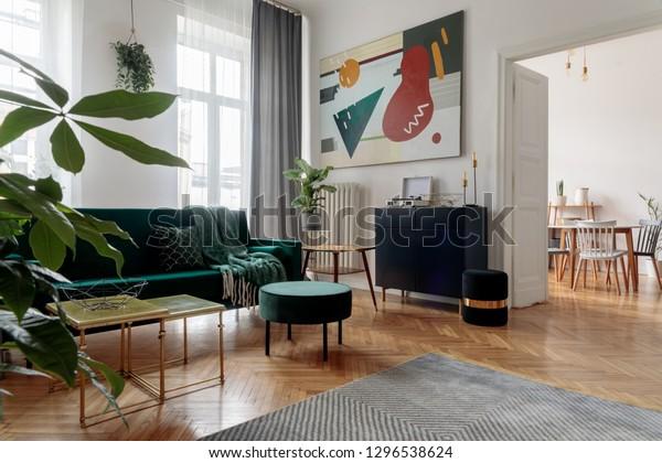 Luxury Modern Home Interior Design Furniture Stock Photo (Edit Now ...
