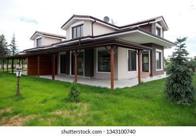 luxury and modern villa