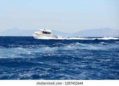 luxury motor boat,speed boats
