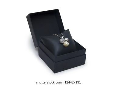Luxury necklace in box
