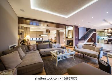 Luxuswohnung mit offenem Plan Interieur