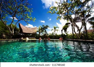Luxury pool, Bali, Indonesia