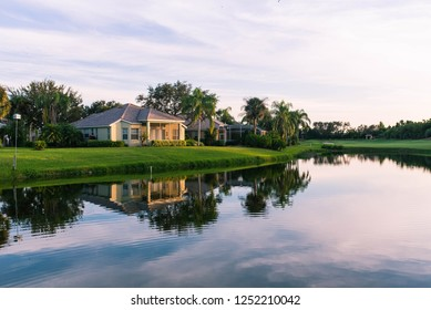 Luxury real estate in Naples, Florida golf community