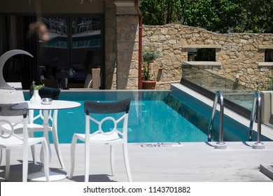luxury and relaxation at the pool