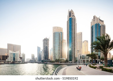 Luxury residence towers in Dubai
