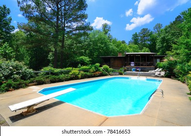 Luxury residential pool