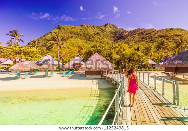 Luxury Resort Bora Bora Tahiti French Stock Photo Edit Now