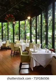 Luxury restaurant.