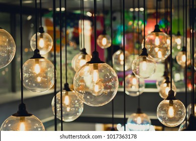 Luxury retro edison light bulb decor