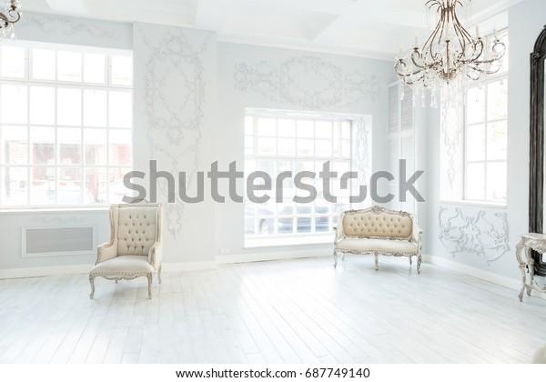 Luxury Rich Living Room Interior Design Stock Photo (Edit Now ...