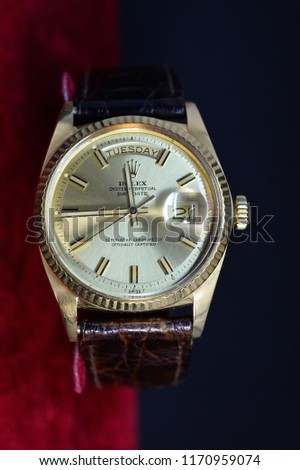 4f844bfb788 Luxury Rolex watch several models such as sports model , special dial ,  were demonstrated under