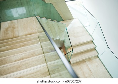 Luxury Room With Marble Stairs.