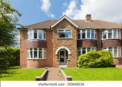 Luxury semi detached house