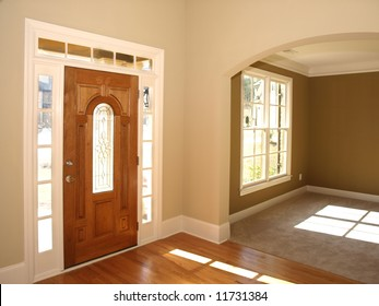Luxury Stained Glass Door with Arch