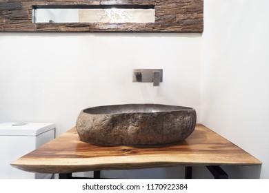 Luxury stone washbasin