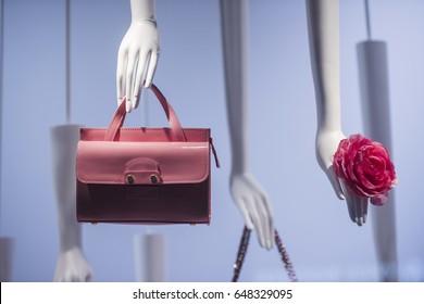 Luxury store apparel in Paris