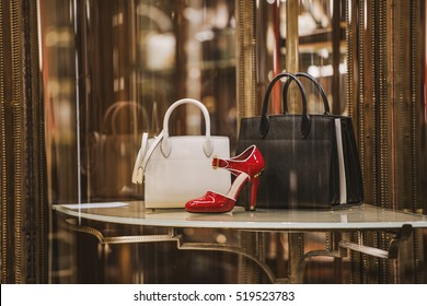 Luxury store appearance