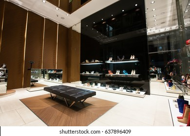 luxury store interior